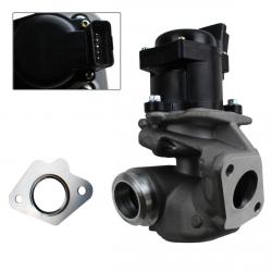 Vanne EGR pour Peugeot 1.6 HDI 206 207 307 308 407 Partner Expert + joints + colliers