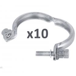 Lot de 10 Colliers bride de vanne EGR pour Citroën Peugeot 1.6 HDI 2.0