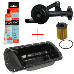 Kit remplacement carter d'huile + crépine + filtre à huile moteur 1.4 & 1.6 HDI TDCI