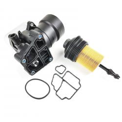Filtre à huile support couvercle avec joint pour Audi Seat Skoda Volswagen 1.6 2.0 TDI