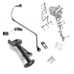 Kit de montage turbo pour Citroën Ford Mazda Mini Peugeot 1.6 HDI TDCI 75/90 ch