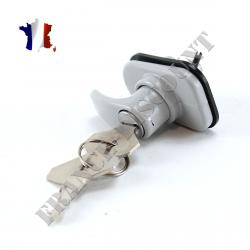 Poignée de coffre + 2 clés pour Renault R4 4L de 1962 à 1993