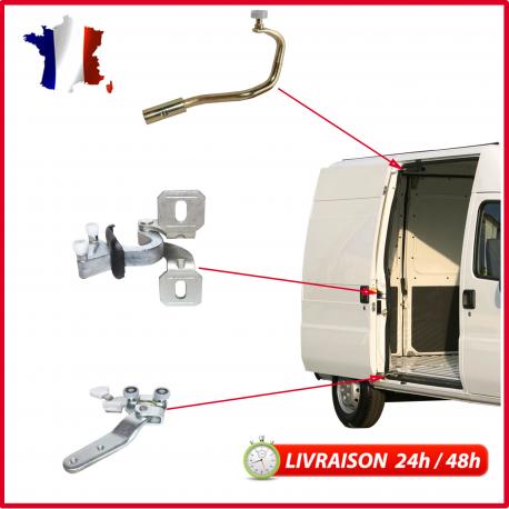 2004-2010 Porte latérale Coulissante Rouleau Kit Réparation Moyen Pour VW Caddy