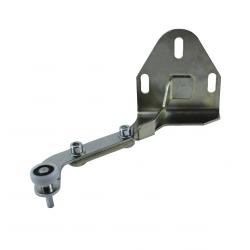 Support + galet de guidage du bas porte latérale droite pour Iveco Daily 4 depuis 2006