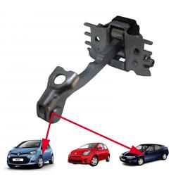 Arrêt tirant de porte avant gauche ou droite pour Renault Laguna 2 Twingo 2 Wind