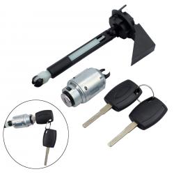 Kit réparation serrure de capot + 2 clés pour Ford Focus 2 (MK2) de 2004 à 2012