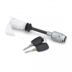 Kit réparation barillet capot serrure + 2 clés pour Ford Focus 2 (MK2) de 2004 à 2012