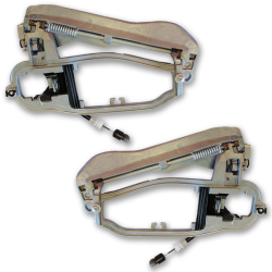 Lot de 2 mécanismes de poignée de porte extérieure avant gauche et droit pour BMW Série X5 E53 (2000 à 2006)