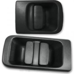Poignée extérieure de porte battante arrière + poignée de porte coulissante latérale droite pour Interstar Movano Master 2