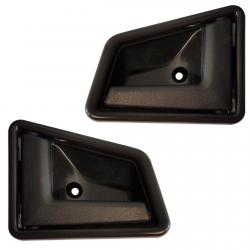 Lot de 2 Poignées intérieures noir de porte avant ou arrière gauche et droite pour Suzuki Vitara Samurai