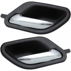 (Lot de 2) Poignée intérieure de porte avant ou arrière gauche et droite pour BMW Série 5 (E39) Série 7 (E38)