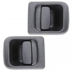 (Lot de 2) Poignée extérieure de porte avant gauche et droite pour Nissan Interstar Opel Movano Renault Master 2