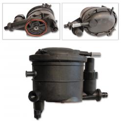 Filtre à gasoil + pompe amorçage pour Citroën Fiat Peugeot Toyota