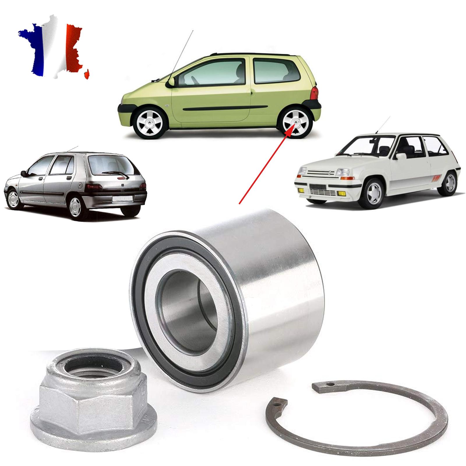 Roulement de roue Arriere Renault Twingo ref 7701205812 de france