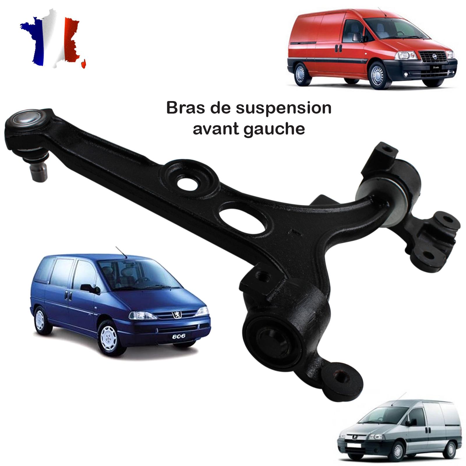 bras de suspension gauche Peugeot 806 Citroen Evasion