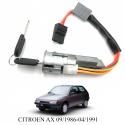 Antivol de direction pour CITROËN Ax (4 fils) (de 1986 à 1991)