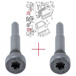 2 Axes charnière de porte pour Citroën Evasion Jumpy Saxo Xsara Peugeot 106 205 206 309 405 605 806 807 Expert