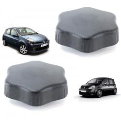 Lot de 2 molettes de réglage du siège avant gauche et droit pour Renault Clio 3 Modus (2005 à 2014)