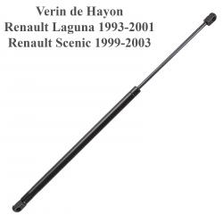 Vérin de coffre de hayon pour Renault Laguna 1 de 1994 à 2000