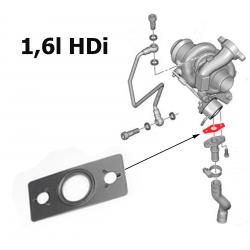 Joint de turbo pour Citroën Fiat Lancia Peugeot 1.6 HDI TDCI