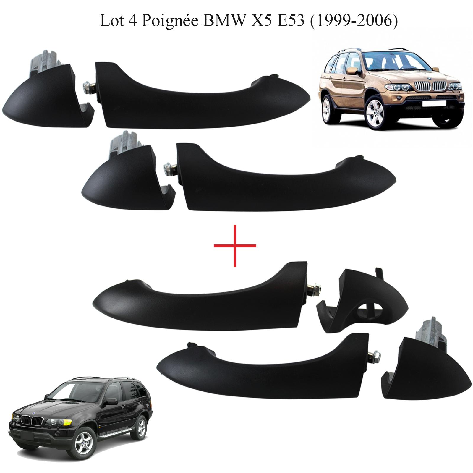 BMW X5 E53 99-05 MÉCANISME POIGNEE DE PORTE ARRIERE GAUCHE L 51218243635 8243635