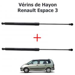Lot de 2 Vérins de coffre hayon pour Renault Espace 3 de 1997 à 2002