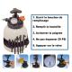 Appareil à pompe outil système de remplissage d'huile de boîte de vitesse (DSG, PDK, CVT, EDC, ATF) avec adaptateurs multimarque
