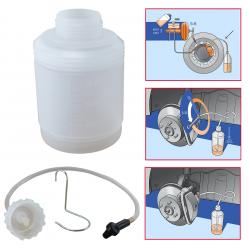 Bouteille de recyclage 1 Litre fournis avec 1 tube + 1 raccord pour la vis de purge