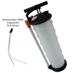 Extracteur tous fluide 6.5 litres + 3 tubes (usage professionnelle)