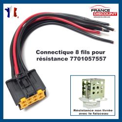 Réparation Faisceau Connecteur électrique Résistance de chauffage / ventilation de Renault Master 2 Opel Movano Nissan Interstar