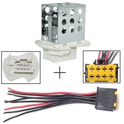 Réparation Faisceau Connecteur électrique + Résistance de chauffage ventilation de Renault Master 2 Opel Movano Nissan Interstar
