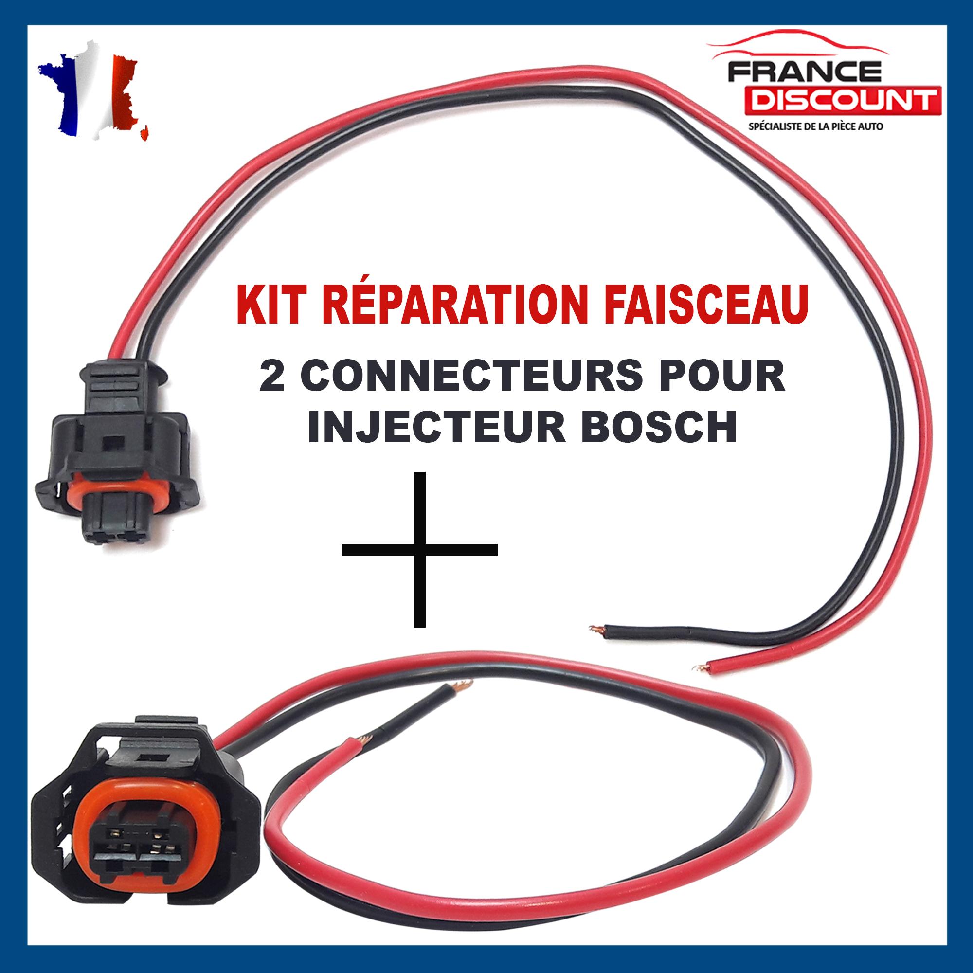 Kit de Réparation Faisceau Câbles Fiche Rail Capteur Pression Fiat Alfa Romero