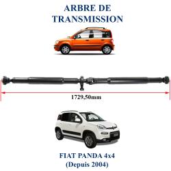 Arbre de transmission neuf pour fiat panda 4x4 avec graisseur et palier prêt à être installé sur votre Panda 4x4
