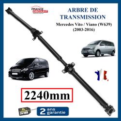 Arbre de transmission ARRIERE NEUF pour Mercedes Vito W639 ou Viano 2240mm