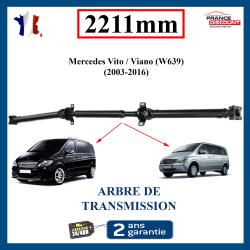 Arbre de transmission ARRIERE NEUF pour Mercedes Vito W639 ou Viano 2211mm