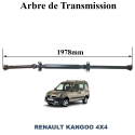 Arbre de transmission pour RENAULT Kangoo 4X4 1.9 DCI & 1.6 16v neuf et garanti