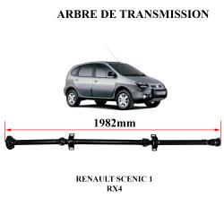 Pointez sur l'image pour zoomer Arbre-de-transmission-NEUF-avec-palier-et-flector-de-Scenic-RX4-8200058705 miniature 1 Arbre-de