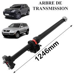 Arbre de transmission NEUF + palier & flector de Touareg 7L Cayenne (955) 1246mm
