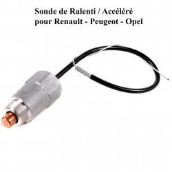 Sonde de ralenti / accéléré pour Peugeot Opel Renault