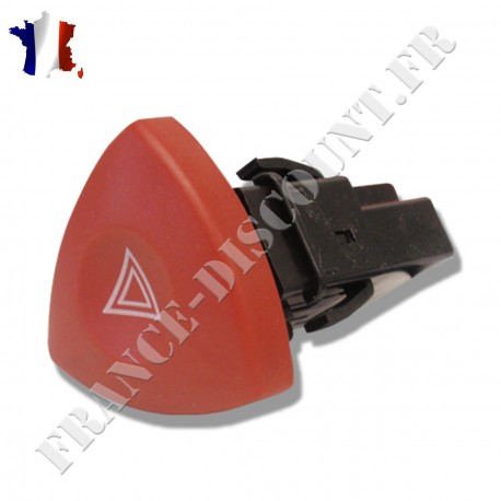 Bouton interrupteur de feux de détresse warning de RENAULT Laguna 2 Espace 4 Velsatis Trafic Master