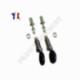 Kit de réparation de barillets de serrure de portes avant pour SEAT Ibiza, Cordoba & VOLKSWAGEN polo