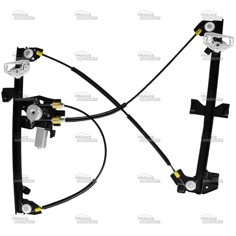 mecanisme de leve vitre electrique avant gauche avec moteur. Black Bedroom Furniture Sets. Home Design Ideas
