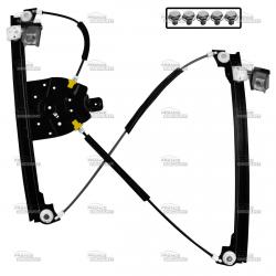 Mécanisme de lève-vitre électrique avant droit de PEUGEOT 607 (de 2000 à 2011)