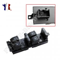 Platine bouton commande de lève-vitre électrique gauche VOLKSWAGEN Bora - Golf 4 (IV) - Passat & SEAT Leon - Toledo