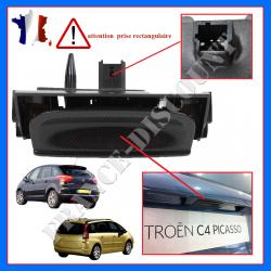 Poignée de hayon + contacteur de coffre électrique 6554V5 pour Citroën C4 Picasso et Grand C4 Picasso (de 2006 à 2013)