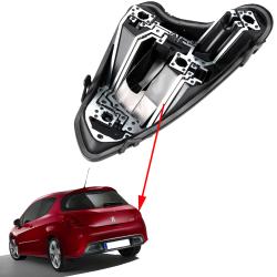 Platine feux arrière droite porte ampoules Peugeot