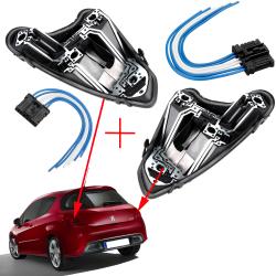 Platine de feux arrière + réparation prise faisceau électrique feux pour Peugeot