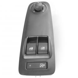Platine Interrupteur bouton de lève vitre + commande de retroviseurs pour Citroen Jumper Fiat Ducato Peugeot Boxer (depuis 2006)