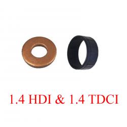 Joint (bague) d'injecteurs + protecteur pour C1 C2 C3 Fiesta 107 1.4HDI 1.4 TDCI